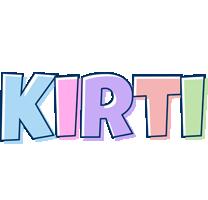Kirti pastel logo