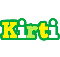Kirti soccer logo