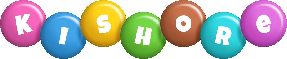 Kishore candy logo