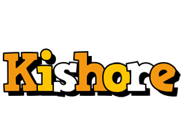 Kishore cartoon logo