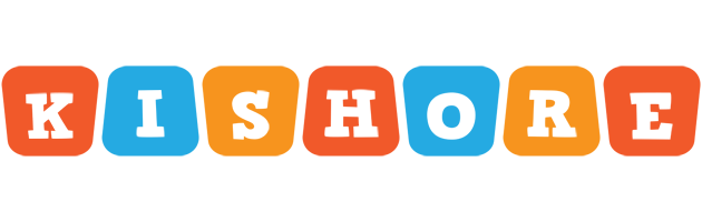 Kishore comics logo
