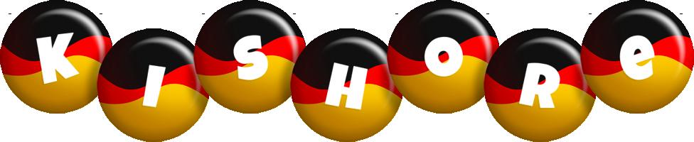 Kishore german logo