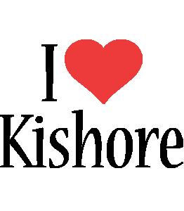 Kishore i-love logo