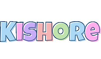 Kishore pastel logo