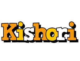 Kishori cartoon logo
