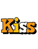 Kiss cartoon logo