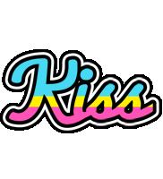 Kiss circus logo