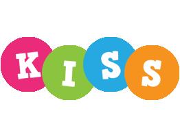 Kiss friends logo