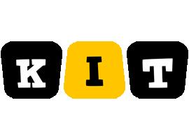 Kit boots logo