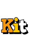 Kit cartoon logo
