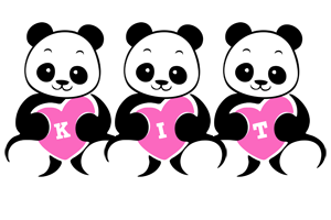Kit love-panda logo