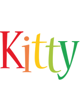 Kitty birthday logo