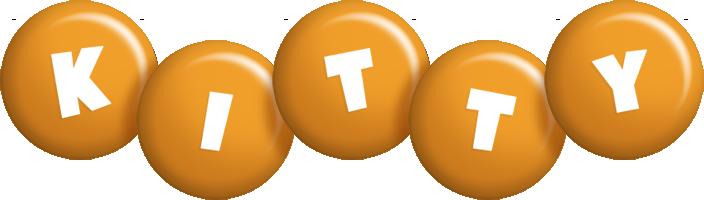 Kitty candy-orange logo