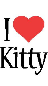 Kitty i-love logo