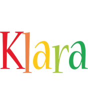 Klara birthday logo