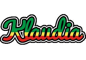 Klaudia african logo