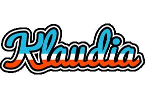 Klaudia america logo