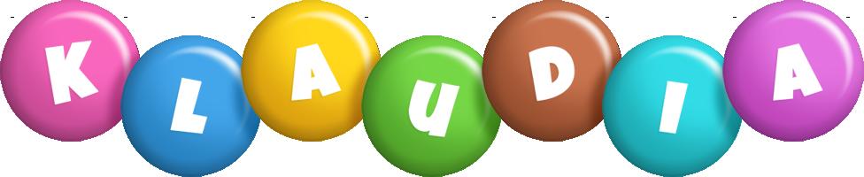 Klaudia candy logo