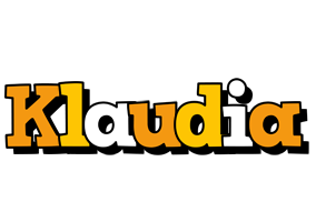 Klaudia cartoon logo