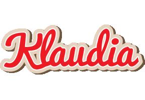 Klaudia chocolate logo