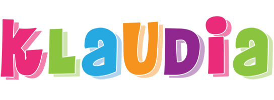Klaudia friday logo