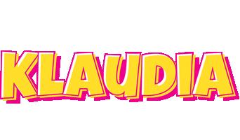 Klaudia kaboom logo
