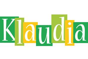 Klaudia lemonade logo