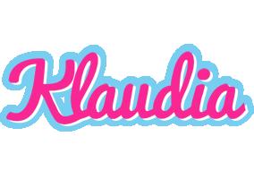 Klaudia popstar logo