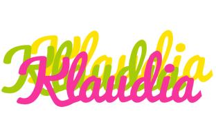 Klaudia sweets logo