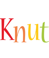 Knut birthday logo