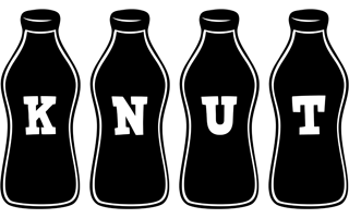 Knut bottle logo