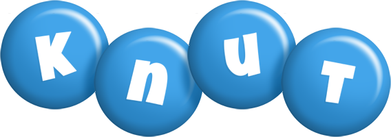 Knut candy-blue logo