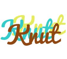 Knut cupcake logo