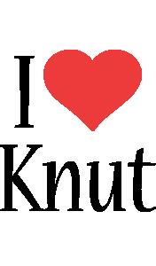 Knut i-love logo
