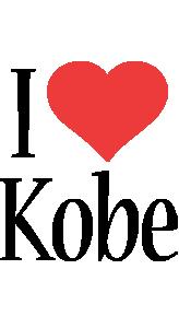 Kobe i-love logo