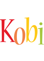 Kobi birthday logo