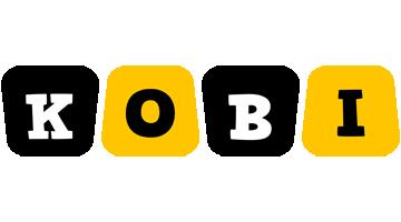 Kobi boots logo