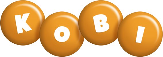 Kobi candy-orange logo