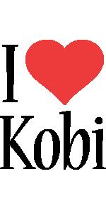 Kobi i-love logo