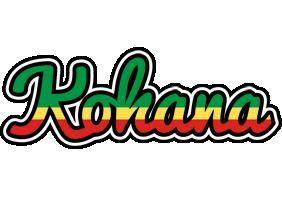 Kohana african logo