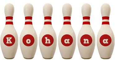 Kohana bowling-pin logo