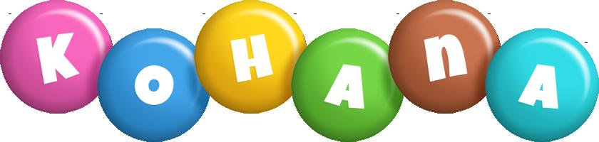 Kohana candy logo
