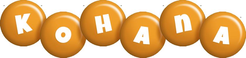 Kohana candy-orange logo