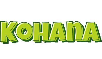 Kohana summer logo