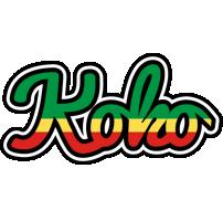 Koko african logo