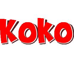 Koko basket logo