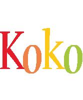 Koko birthday logo