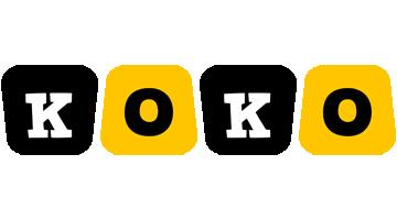 Koko boots logo