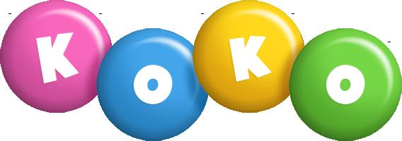Koko candy logo