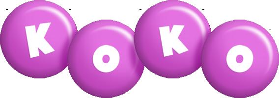 Koko candy-purple logo